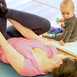 Gimnasia Mujeres con bebes