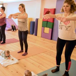Gimnasia Mujeres con bebes
