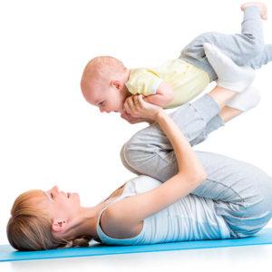 Gimnasia con Bebes