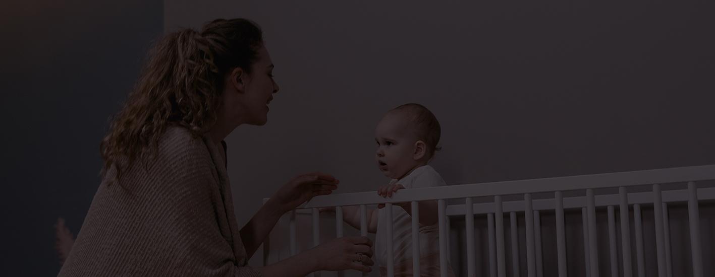 Cuándo pasar al bebé a su propia habitación